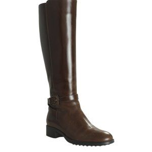Tods Leather Mid - Calves Bootsx Size 36 161125